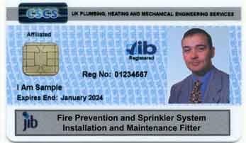 Sprinkler skills card