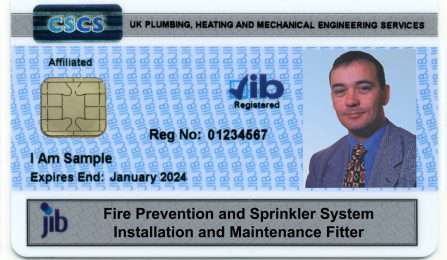 JIB Sprinkler Installer Skills Cards