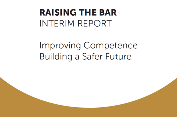 Raising the Bar: Interim Report